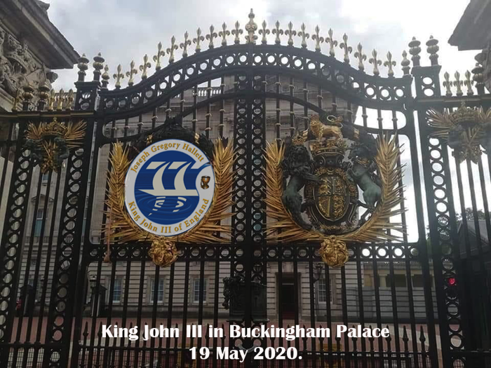 King John III Coat of Arms on Buckingham Palace 700px king of uk