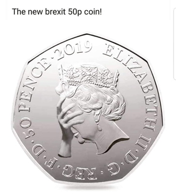 New Brexit 50P Coin 400